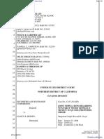 Securities And Exchange Commission v. Heinen et al - Document No. 30