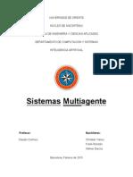 Sistemas Multi Agentes