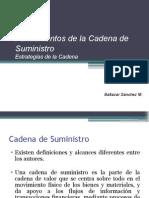 P11-La Cadena de Suministro y Su Logistica