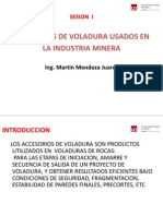 Sesion I Accesorios de Voladura
