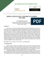 Derivatives Flock Case Risk on Market Sectors
