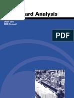 Job Hazard Analysis (Osha 3071) 2002 Revised