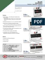 IET Lab_RS-201W Range Precision Resistance Substituter
