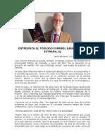 Entrevista Al Teólogo Juan Antonio Estrada