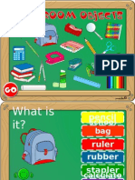 Classroom Objects Game