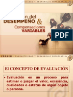 Conceptos Base Evaluación de Desempeño