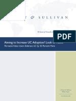 Frost&Sullivan Logitech UC Adoption-Look to Video Whitepaper