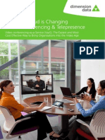 How the Cloud is Changing Video Conferencing and Telepresence White Paper 0