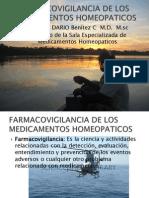 Farmacovigilancia de Los Medicamentos Homeopaticos