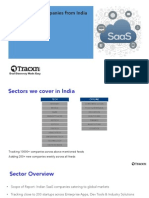 Global SaaS From India Report by Tracxn
