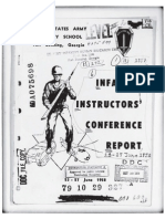 1958-06 Infantry Instructors' Conference Report, 23-27 June 1958