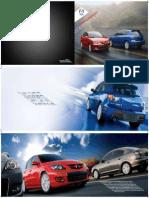 Mazda 3 2009 Bronchure