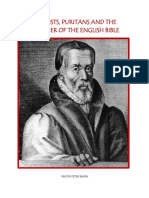Baptists, Puritans and the Father of the English Bible