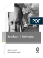 An Introduction to Humanfactors
