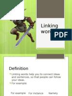 linkingwordsurbanmendietaandbadillo-130920112034-phpapp02