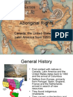 Native Americans and Civil Rights - Latin America, The US and Canada