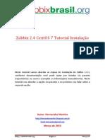 Tutorial Zabbix 2.4 CentOS 7 Portugues
