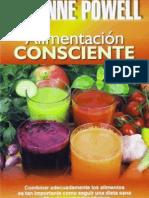 Alimentación Consciente (Dieta Disociada)- Suzanne Powell