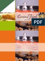 Cocina Fácil para veganos y vegetarianos (recetario) - Homo Vegetus