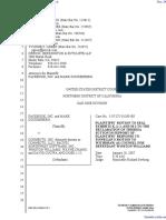 The Facebook, Inc. v. Connectu, LLC et al - Document No. 246