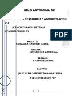Documentación de Sistema Experto Con Codigo Fuente de Las Bases de Cocnocimento 1,2 y 3.