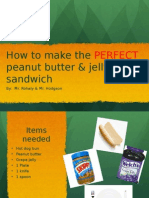project 3 - sandwich how to