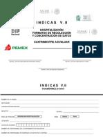 INDICAS II Cuadernillo de Encuestas Para Hospitales de Segundo Nivel