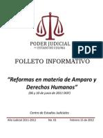 Reformas Amparo y Derechos Humanos