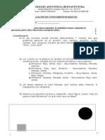 Evaluacion Diagnóstica Artes Visuales
