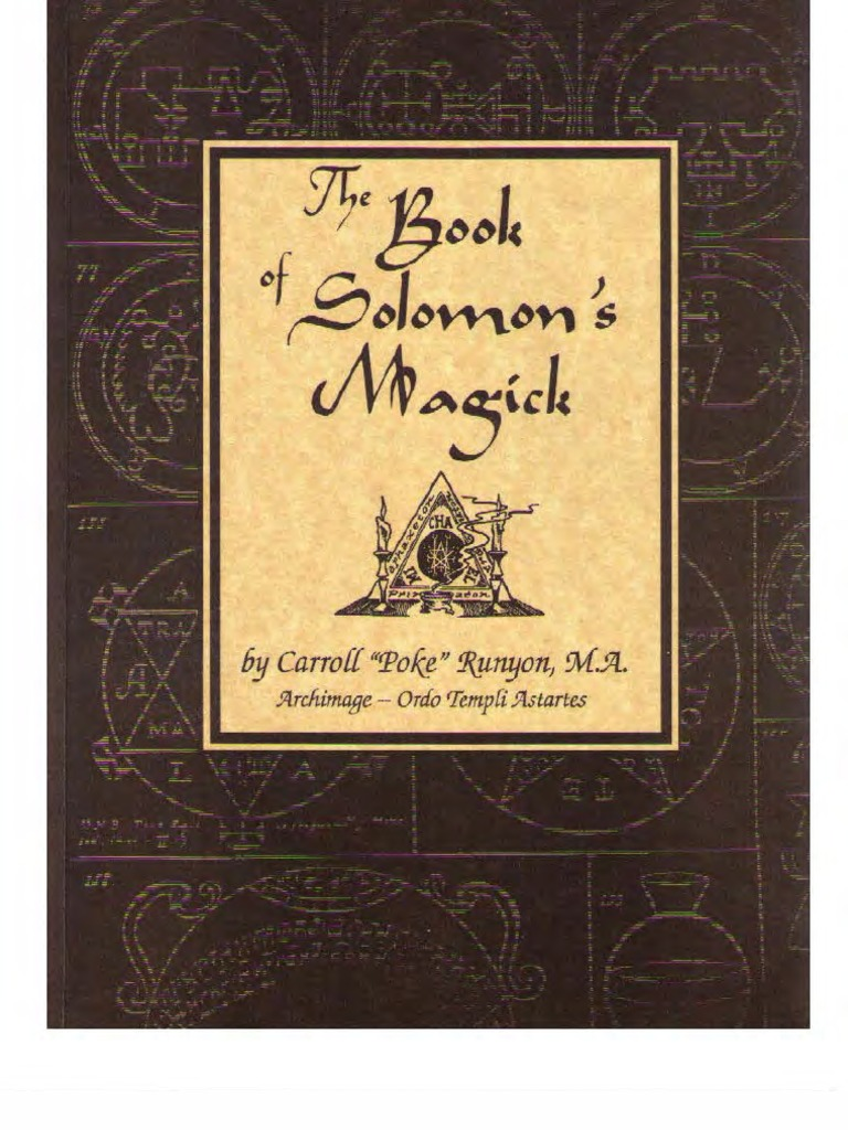 The book of solomons magick magic paranormal hypnosis buycottarizona