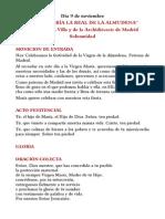 Textos Propios de La Solemnidad de Santa María La Real de La Almudena