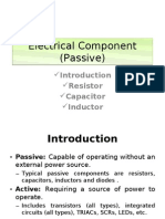Electrical Component (Passive)