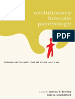Evolutionary Forensic Psychology