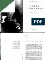 Rubén Darío - Autobiografía