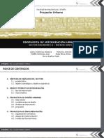 Propuesta de Rehabilitacion Urbana en el Sector 02 de Buenos Aires - Trujillo