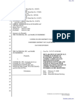 The Facebook, Inc. v. Connectu, LLC et al - Document No. 272