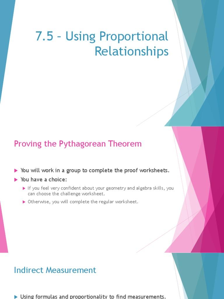 7 5 Presentation Triangle Ratio