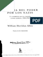 Allen Sheridan, William, La Toma Del Poder...