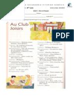 Au Club Joisirs