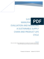 Manufacturing System Analysis