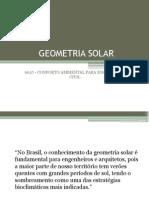 Aula 05 - Geometria Solar