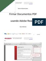 Guía Para Firmar Con Certificado en Adobe Reader