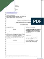 Facebook, Inc. v. John Does 1-10 - Document No. 39