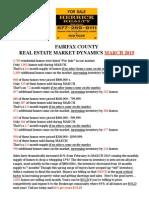 Market Dynamics - Fairfax  March 15