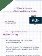 Content Analysis (Advertising)