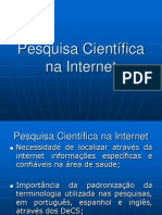 Pesquisa Cientifica Na Internet 2014