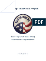 Peace Corps GO Volunteer Step - by - Step Guide-V3 2014