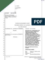 The Facebook, Inc. v. Connectu, LLC et al - Document No. 302