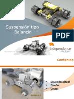 Suspension Balancin