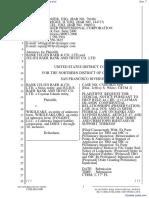 Bank Julius Baer & Co. Ltd. et al v. Wikileaks et al - Document No. 7